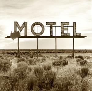 Motel Sign by TM Photography