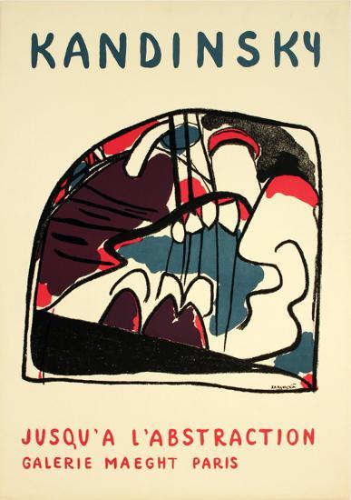 To Abstraction-Wassily Kandinsky-Art Print