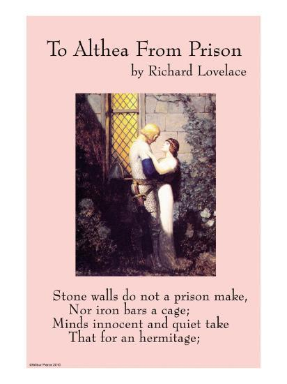 To Althea From Prison--Art Print