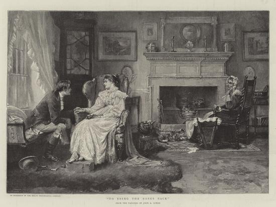To Bring the Roses Back-John Arthur Lomax-Giclee Print