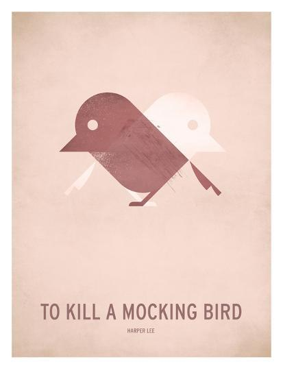 To Kill a Mocking Bird_Minimal-Christian Jackson-Art Print