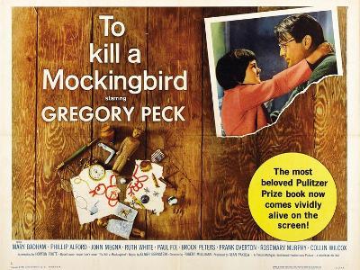 To Kill a Mockingbird, 1962, Directed by Robert Mulligan--Giclee Print
