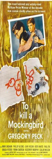 To Kill a Mockingbird, 1963--Art Print