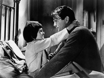 To Kill a Mockingbird, from Left: Mary Badham, Gregory Peck, 1962--Photo