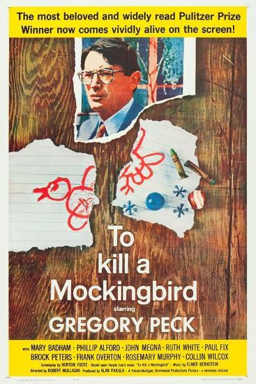To Kill a Mockingbird, Gregory Peck, 1962--Art Print