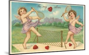 To My Love, Cupids Playing Tennis