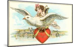 To My Valentine, Cupid Riding Dove