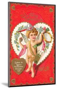 To My Valentine, Cupid with Tambourine