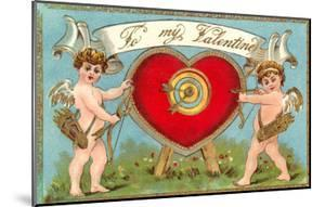 To My Valentine, Cupids with Heart Target
