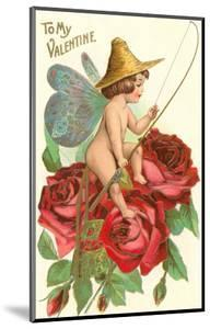 To My Valentine, Fishing Cupid in Roses