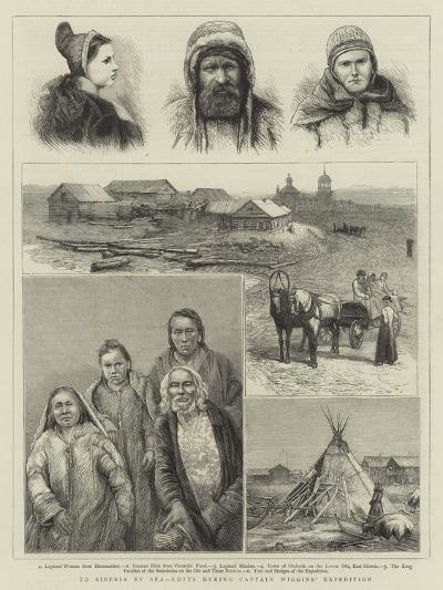 To Siberia by Sea, Notes During Captain Wiggins' Expedition--Giclee Print