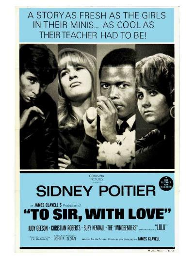 To Sir With Love, Australian Movie Poster, 1967--Art Print
