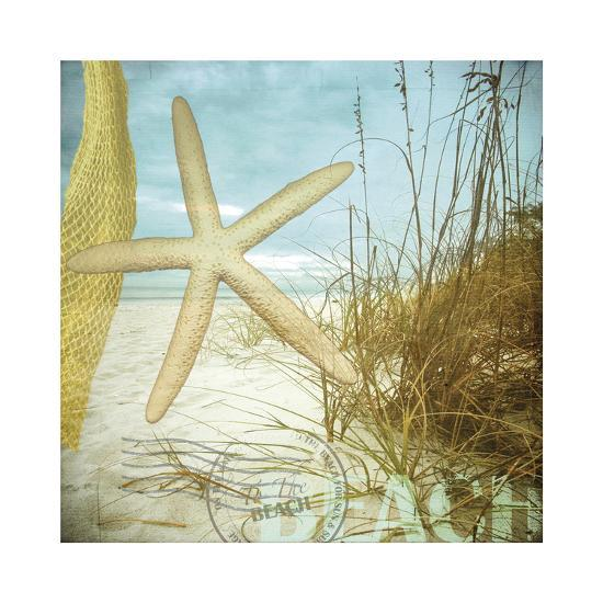 To the Beach-Donna Geissler-Giclee Print