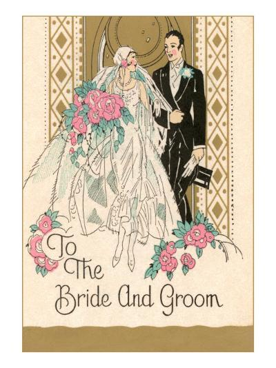 To the Bride and Groom--Art Print