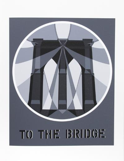To the Bridge (from the American Dream Portfolio)-Robert Indiana-Serigraph