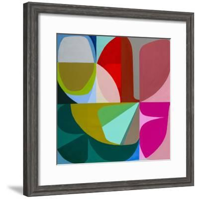 To the Green Just Beginning-Marion Griese-Framed Art Print