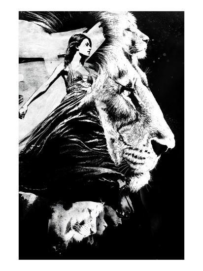 To the Lions-Alex Cherry-Art Print