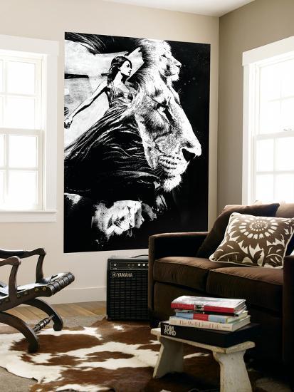 To the Lions-Alex Cherry-Giant Art Print