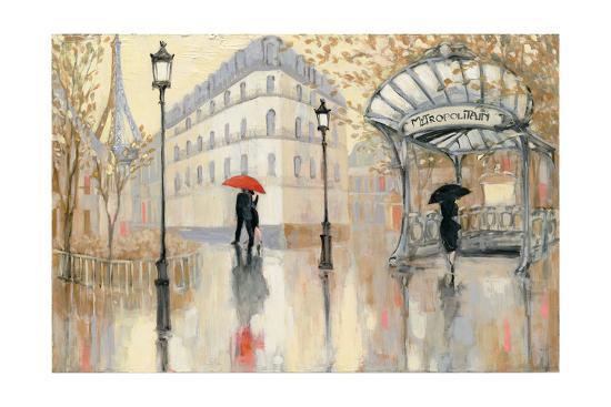 To the Metro-Julia Purinton-Art Print