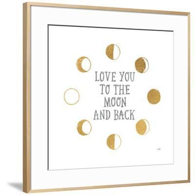 To the Moon-Moira Hershey-Framed Art Print
