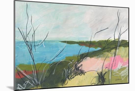 To The Sea No. 1-Jan Weiss-Mounted Art Print