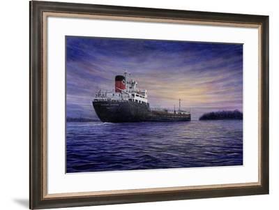 To the Sea-John Morrow-Framed Giclee Print