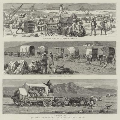 To the Transvaal Goldfields, Via Natal--Giclee Print