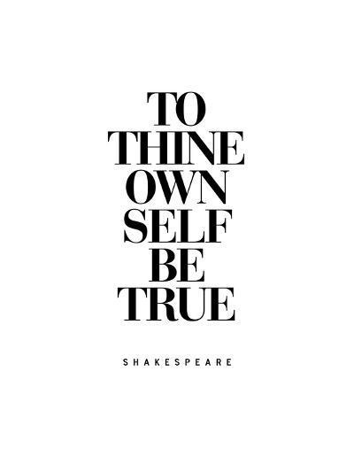 To Thine Own Self Be True-Brett Wilson-Art Print