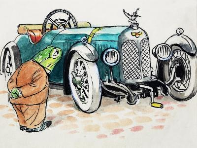 Toad of Toad Hall-Mendoza-Giclee Print