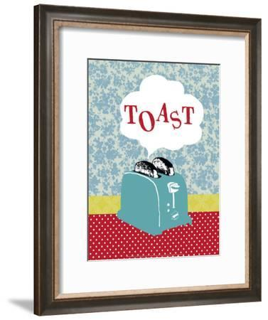 Toast-Helene Druvert-Framed Art Print