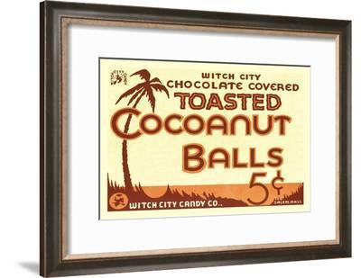 Toasted Cocoanut Balls--Framed Art Print