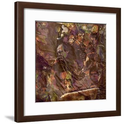 Tobacco 1 Smokerson Leaves-Murray Murray Henderson Fine Art-Framed Giclee Print