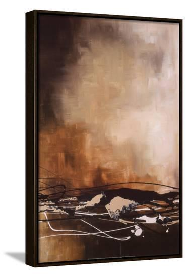 Tobacco and Chocolate II-Laurie Maitland-Framed Canvas Print
