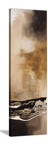 Tobacco and Chocolate III-Laurie Maitland-Stretched Canvas Print