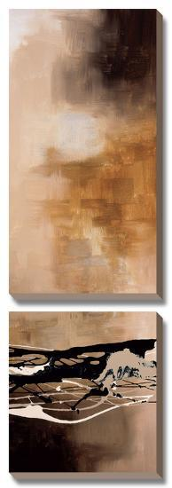 Tobacco and Chocolate III-Laurie Maitland-Canvas Art Set