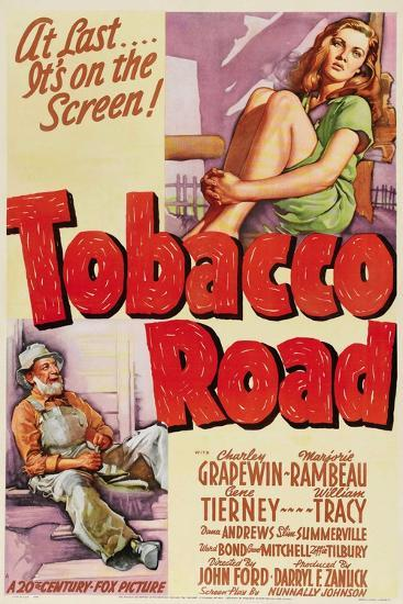 Tobacco Road, 1941, Directed by John Ford--Giclee Print