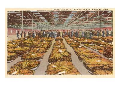 Tobacco Warehouse, Kentucky--Art Print