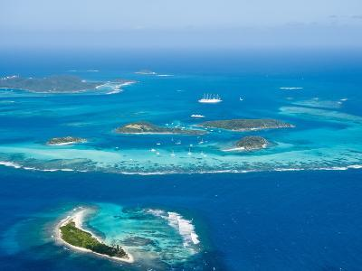 Tobago Cays and Mayreau Island, St. Vincent and the Grenadines, Windward Islands-Michael DeFreitas-Photographic Print