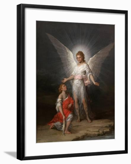 Tobias and the Angel, Ca. 1787-Suzanne Valadon-Framed Giclee Print