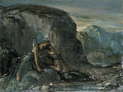 Tobias Being Comforted by the Angel-Charles Ricketts-Giclee Print