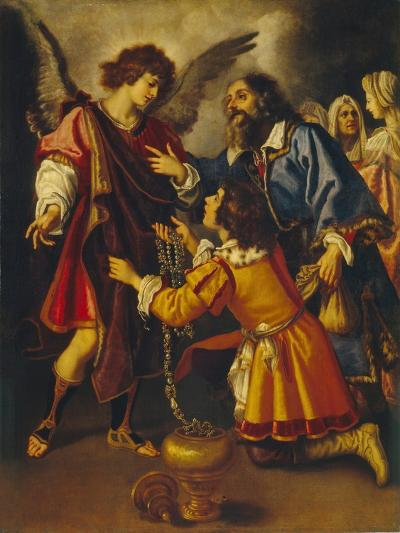 Tobias's Farewell to the Angel, First Third of 17th C-Giovanni Bilivert-Giclee Print