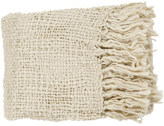 Tobias Throw - Ivory--Home Accessories