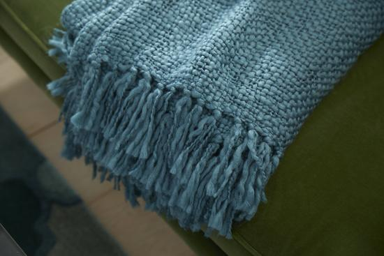 Tobias Throw - Teal *--Home Accessories
