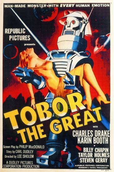 Tobor the Great, 1954, Directed by Lee Sholem--Giclee Print