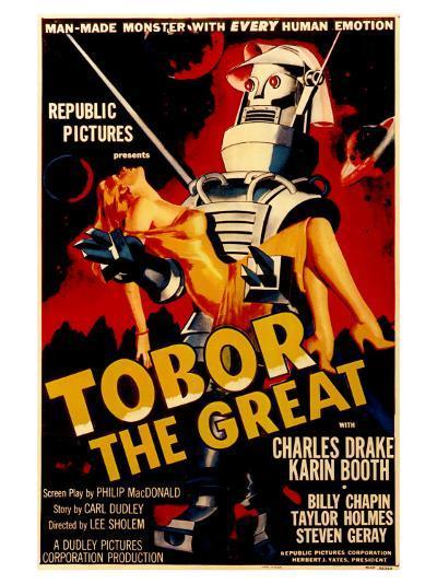 Tobor the Great, 1954--Art Print