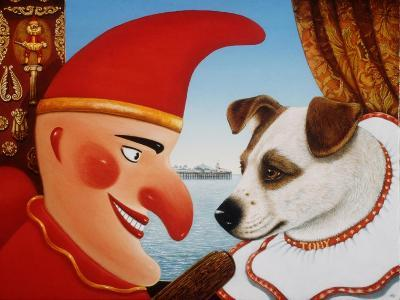 Toby and Punch, 1994-Frances Broomfield-Giclee Print