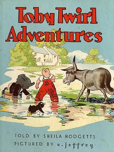 Toby Twirl Adventures, 1949, UK--Giclee Print