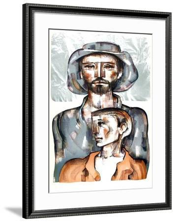 Today and Tomorrow-Jorge Dumas-Framed Limited Edition