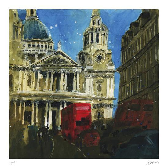 Today and Yesterday St. Paul's, London-Susan Brown-Collectable Print