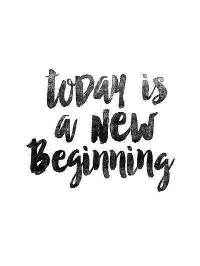 Today is a New Beginning-Brett Wilson-Art Print